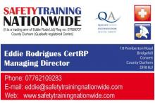 Safety Training Nationwide (trading arm of Eddie Rods Ltd)