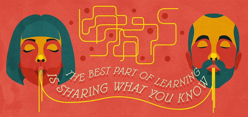 The best part of learning is sharing what you know