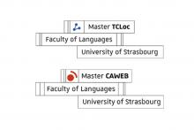 Université de Strasbourg, Ufr Lsha, Parcours Master Caweb