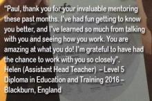 Helen DET Student UK