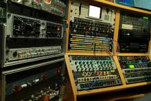 our equipment in the studio 1