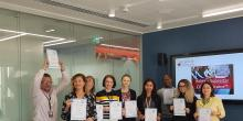 Masterclass where delegates received CPD certificates