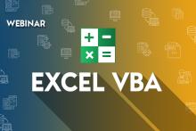 Excel VBA Training Webinar
