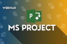 MS Project Training Webinar