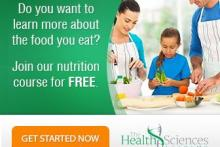 FREE Online Nutrition Course | The Health Sciences Academy