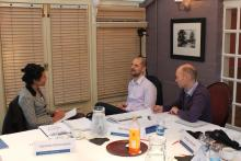Consultancy Course Coaching in action