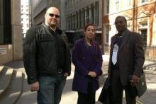 Selected London UK Delegates Attending Advanced Accounting and Training Needs Analysis Courses 1s and 2nd Left